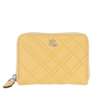 Portemonnees - Sm Zip Wllet Wallet Small in geel voor dames
