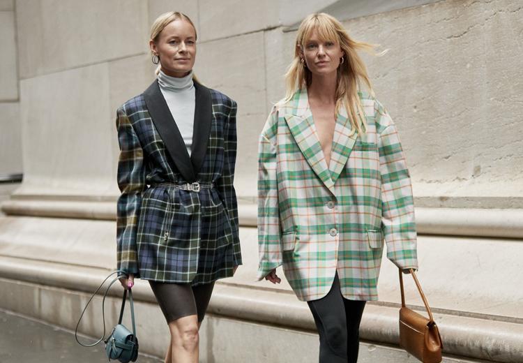 5 manieren om de geruite blazer te dragen | Fashionchick