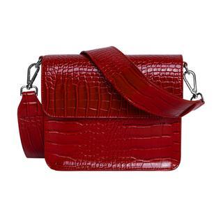 Cayman Shiny Strap Bag Wine Red