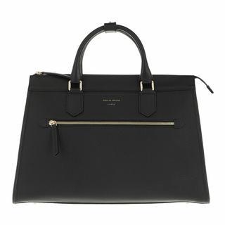 Crossbody bags - Small Leather Handbag in zwart voor dames