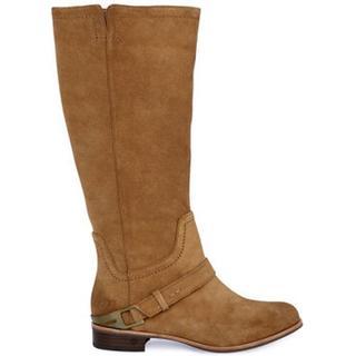 Channing Laarzen voor Dames in Chestnut