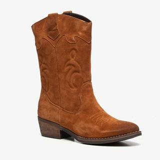 suede dames western laarzen