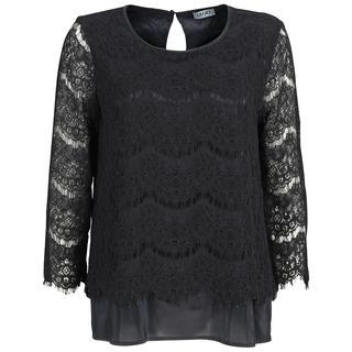 blouse w68-294 in het Zwart