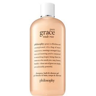 Nude Rose Shampoo Bath Shower Gel NUDE ROSE SHAMPOO, BATH & SHOWER GEL
