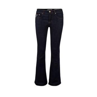 Flared Jeans Female Blauw