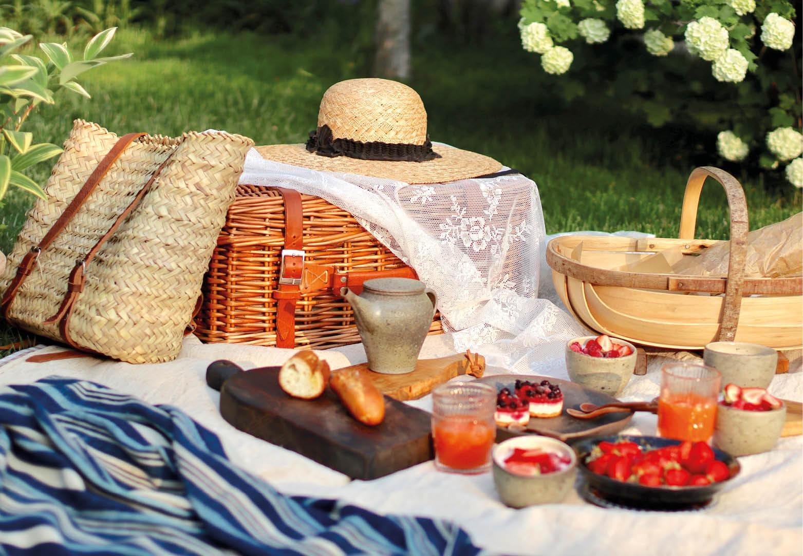 Picknick outfit inspiratie