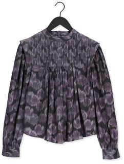 Paarse Blouse Aretha Top