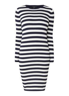 Jolie fijngebreide fitted midi jurk