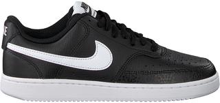 Zwarte Lage Sneakers Court Vision Low Wmns