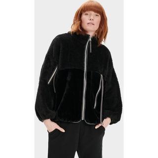 Marlene Sherpa Jas voor Dames in Black