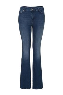 Dames Bootcut jeans midblue