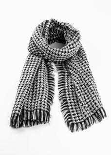 Dames sjaal in zwart