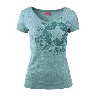 Strandshirt met logoprint
