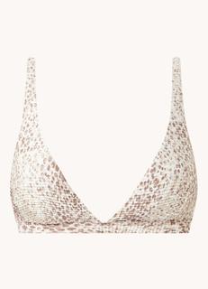 Serpentine voorgevormde bikinitop met uitneembare vulling
