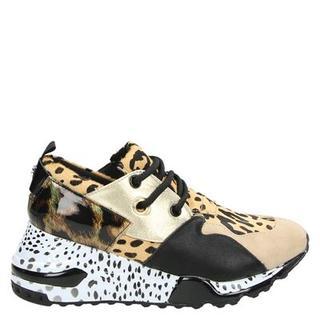 Cliff lage sneakers bruin
