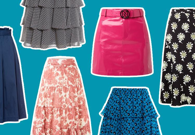 Deze rok past bij jouw figuur