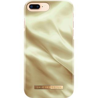 Fashion Backcover voor iPhone 8 Plus / 7 Plus / 6(s) Plus - Honey Satin
