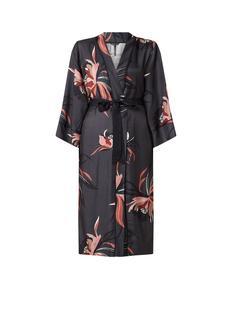 Douzou kimono met bloemendessin