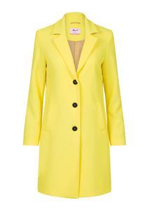 Dames Trenchcoat geel
