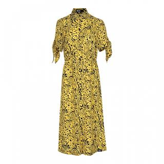 Maxi jurken Female Geel