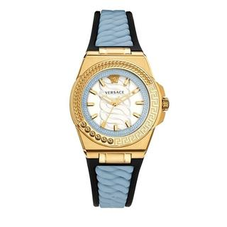 Horloges - Chain Reaction Watch in blauw voor dames