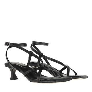Sandalen - Heeled Sandals in zwart voor dames