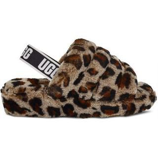 Fluff Yeah Leopard Slide voor Dames in Amphora