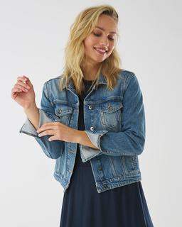 Spijkerjas Nathalie vintage blauw