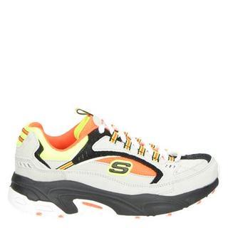 Stamin Cross Road dad sneakers licht grijs