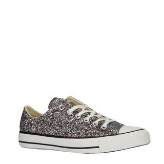 Chuck Taylor All Star sneakers zilver/glitters
