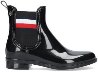 Zwarte Regenlaarzen Corporate Ribbon Rainboot