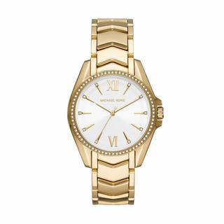 Horloges - MK6693 Whitney Watch in goud voor dames