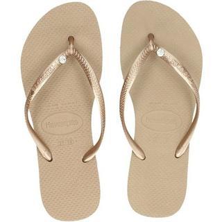 Slim Crystal Glamour slippers