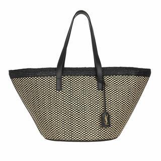 Shoppers - Panier Straw Woven Basket Shopping Bag in Meerkleurig voor dames