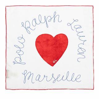 Sjaals & halsdoeken - Heart Bandana in rood voor dames