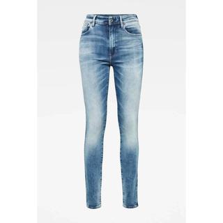 high waist skinny jeans Kafey B471/sun faded azurite