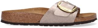 Taupe Slippers Madrid Big Buckle Bf Graceful