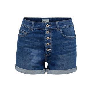 high waist denim short ONLHUSH medium blue denim