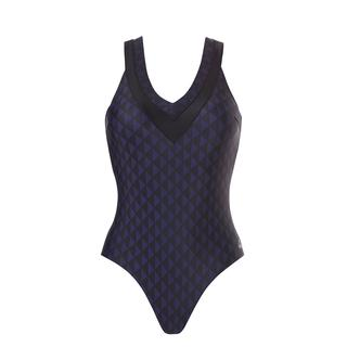 badpak soft cup Twotone diamonds navy