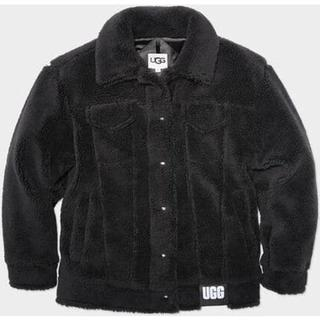 Frankie Sherpa Trucker Jas voor Dames in Black, maat S | Polyester