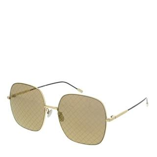 Zonnebrillen - BV0202S-003 58 Sunglass WOMAN METAL in goud voor dames