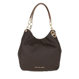 Tote - Lillie Large Chain Shoulder Tote Brown/Acorn in bruin voor dames - Gr. Large
