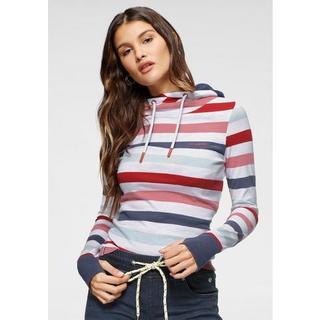 shirt met lange mouwen moderne horizontale strepen