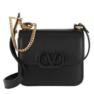 - VSLING Mini Crossbody Bag Calfskin in zwart voor dames