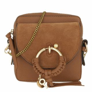 Crossbody bags - Joan Camera Bag Leather in bruin voor dames