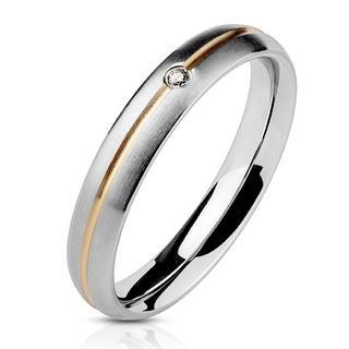 Amora - Zilveren dames ring met steentje