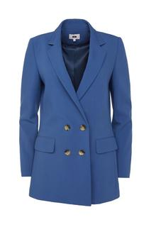 Dames regular fit double-breasted blazer