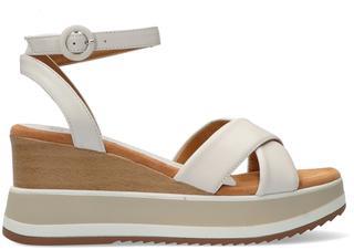 Witte Sandalen Kadio