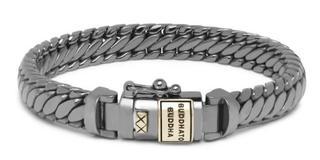Armband Ben XS Black Rhodium Shine Goud 14kt