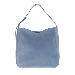 - Lea Suede Shopper in blauw voor dames